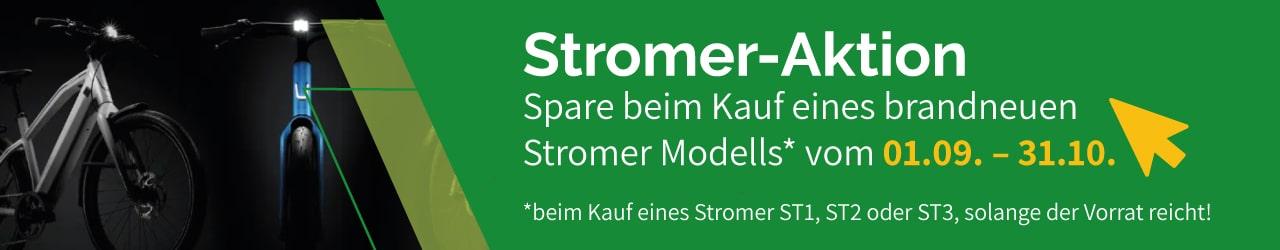 Banner Stromer Aktion in Dietikon