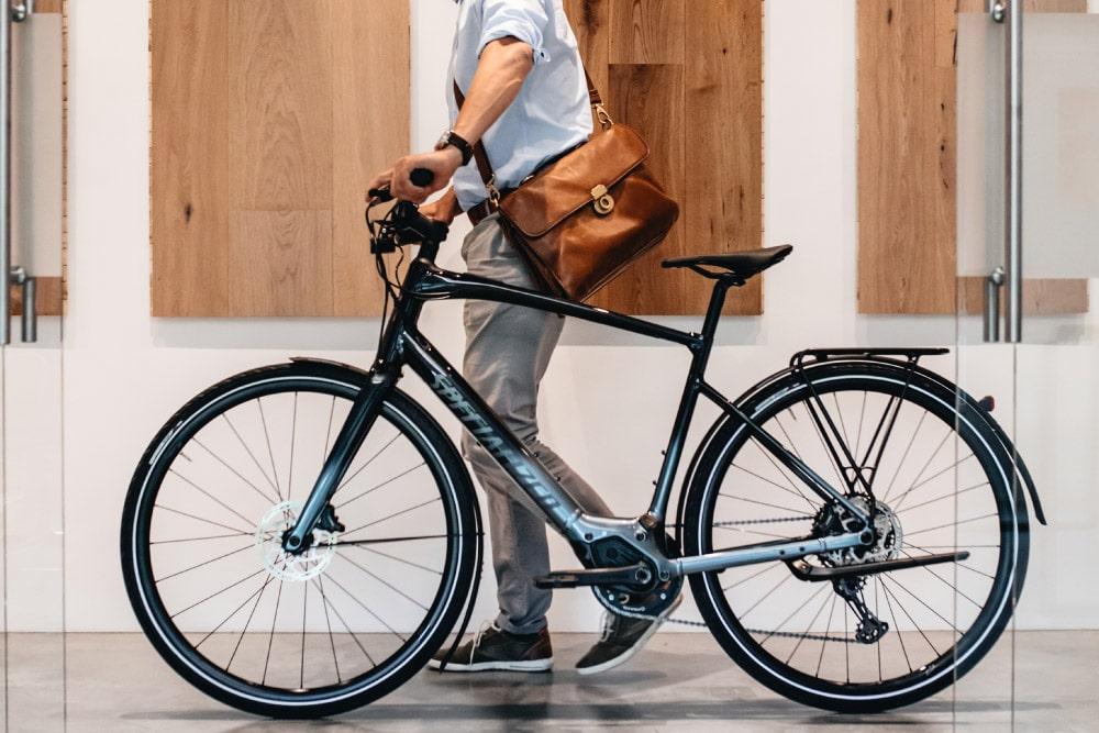 e-Bike für Büro Pendler