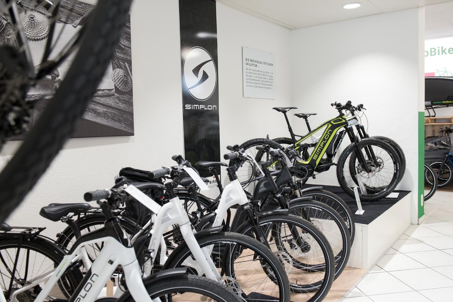 e-motion e-Bike Welt Dietikon_Shop_2018_1_e-Bikes von Simplon