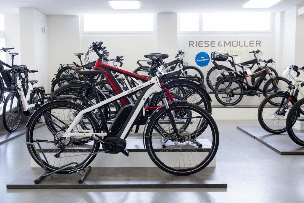 e-motion e-Bike Welt Dietikon_Shop_2018_6_Riese & Müller e-Bikes Verkauf