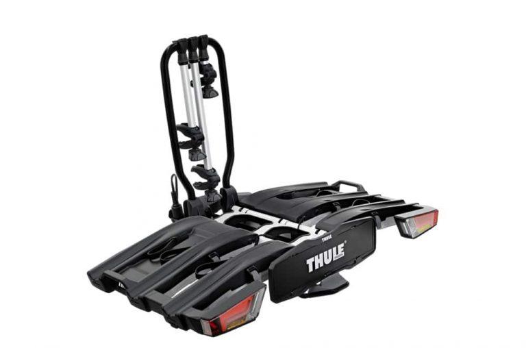 Auto Heckträger EasyFold_XT von Thule für einen sicheren e-Bike Transport
