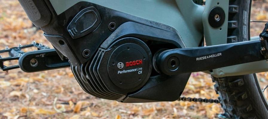 e-Bike mit Bosch Performance Line CX Gen4 Motor