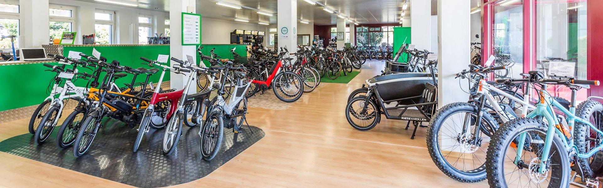 Der Shop der e-motion e-Bike Welt Hombrechtikon