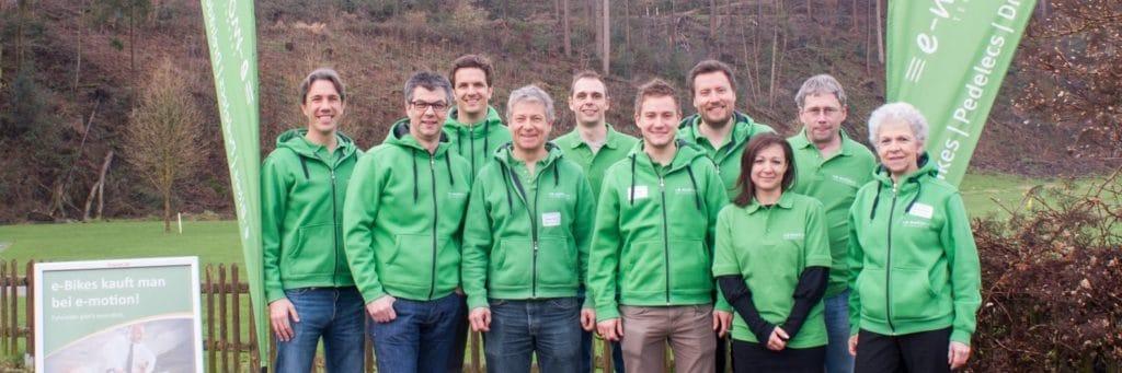 e-motion Gruppe in der Schweiz
