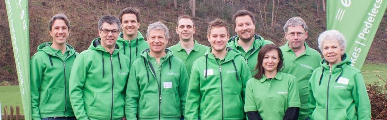 Die Inhaber der e-motion e-Bike Welten in der Schweiz