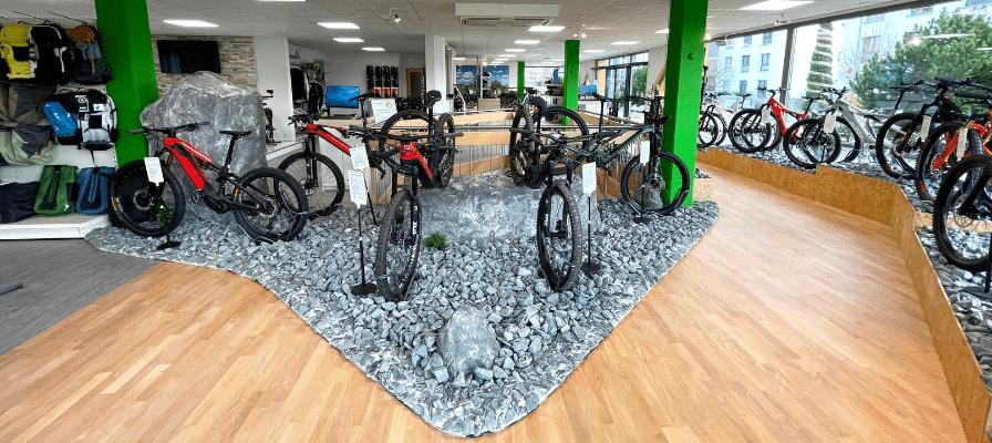 Innenaufnahme der e-motion e-Bike Welt Egerkingen