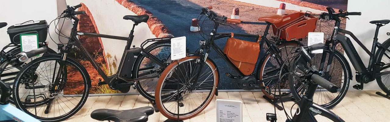 City e-Bikes in der e-motion e-Bike Welt Aarau-Ost