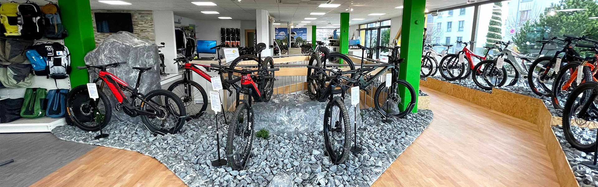 Der Shop der e-motion e-Bike Welt Egerkingen