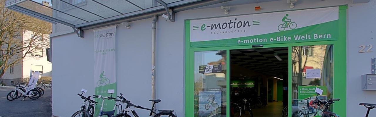 e-Bike Service bei e-motion Bern