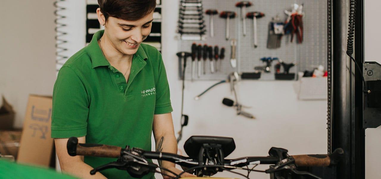 e-Bike Service Werkstatt Jobs bei e-motion in der Schweiz