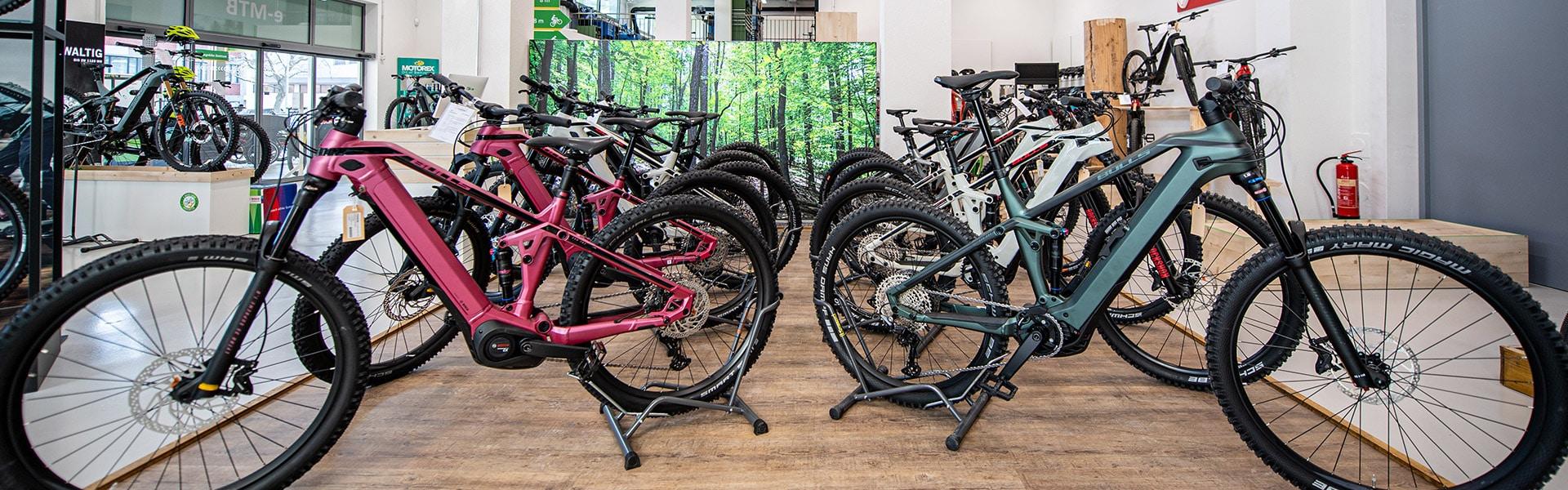 e-motion e-Bike Welt Dietikon Innenansicht
