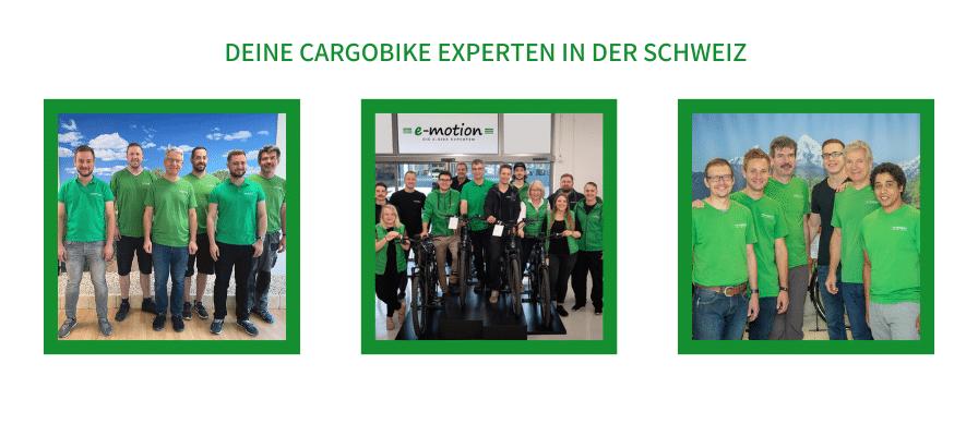 Cargobike Zentren