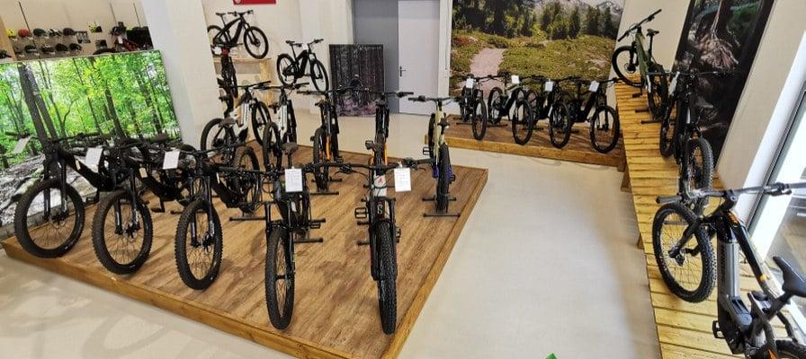 Sortiment der e-motion e-Bike Welt Dietikon
