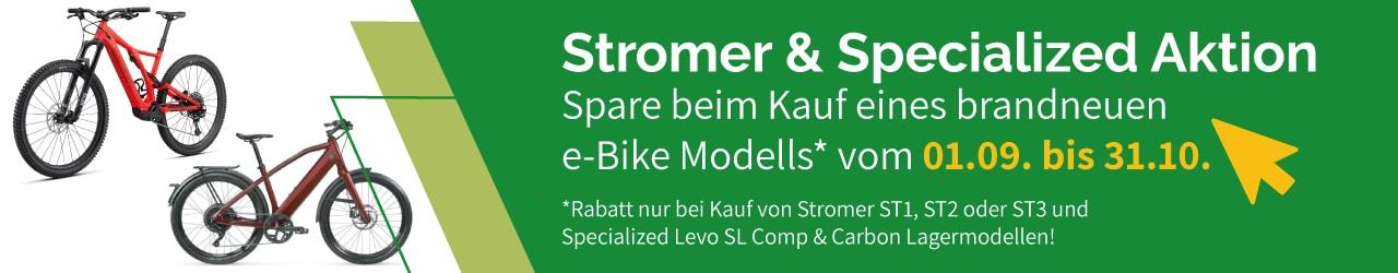 Stromer & Specialized e-Bike Rabattaktion in Dietikon