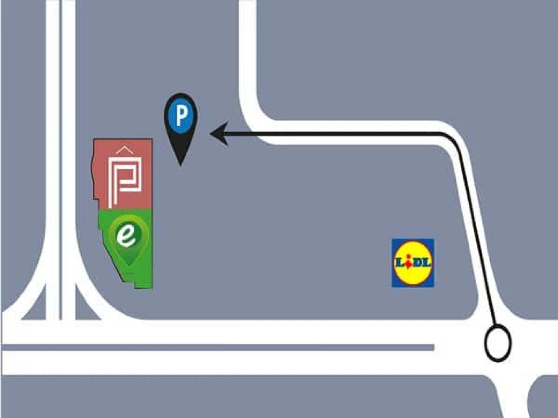 Anfahrtskizze zur e-motion e-Bike Welt Aarau-Ost