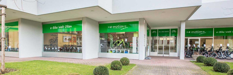 Der Shop der e-motion e-Bike Welt Egerkingen